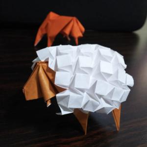 羊(折り紙)