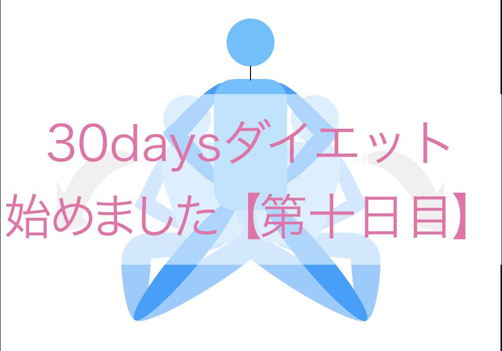 ダイエット(10日目)