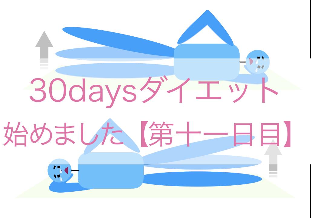 ダイエット(11日目)
