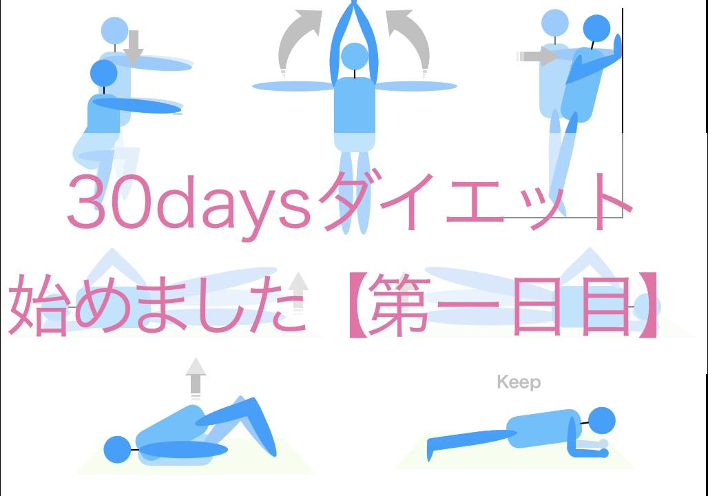 30日ダイエット(1日目)