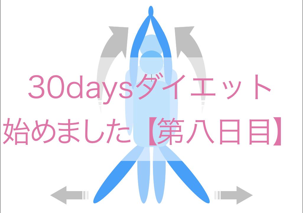 ダイエット(8日目)