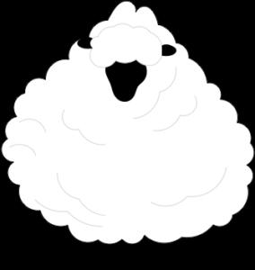 毛刈りから逃げ続けた羊