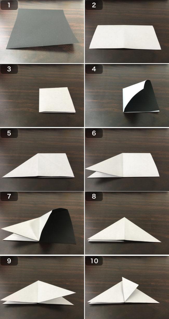 お多福の香箱の折り方1