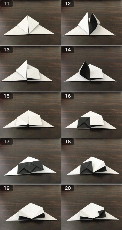 お多福の香箱の折り方2