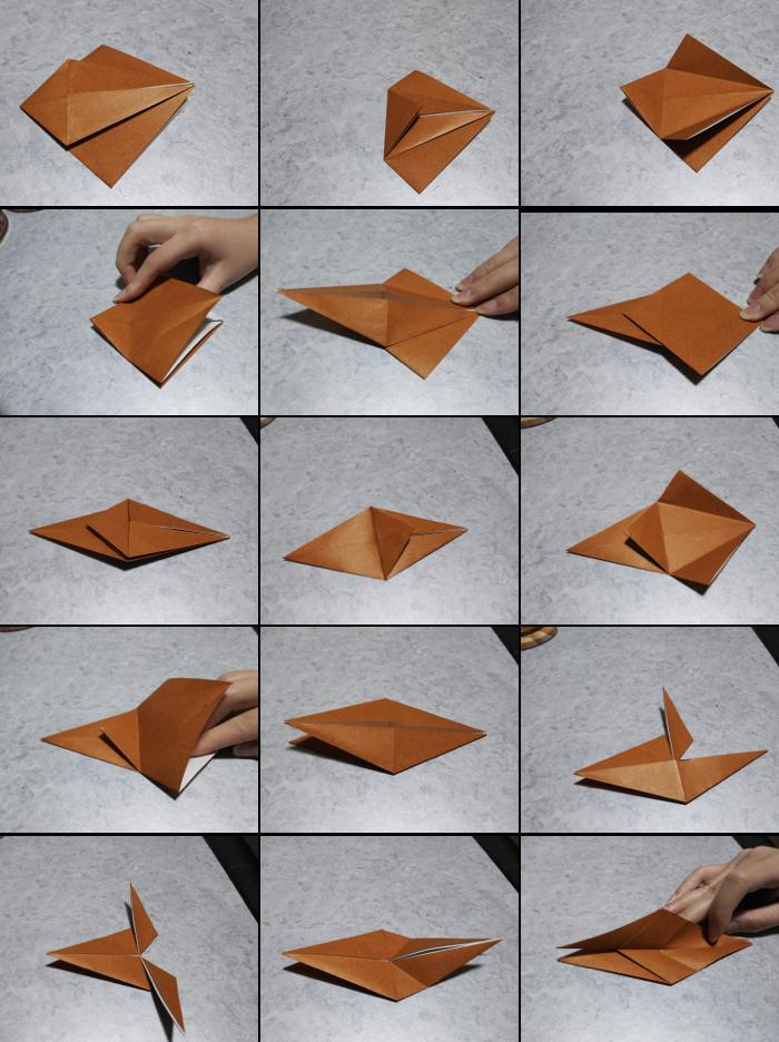 トナカイの折り方2
