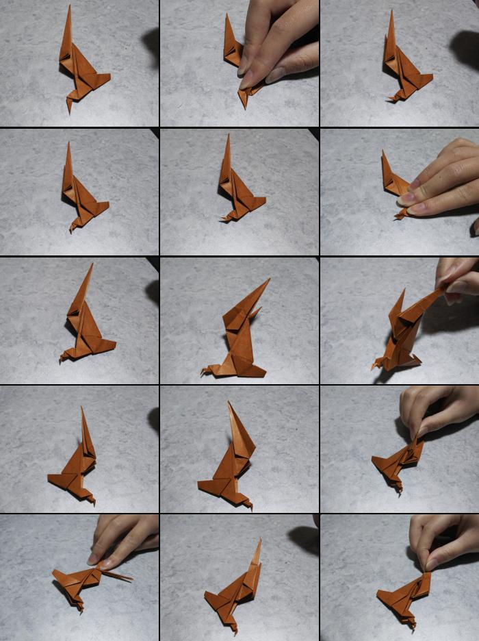 トナカイの折り方6